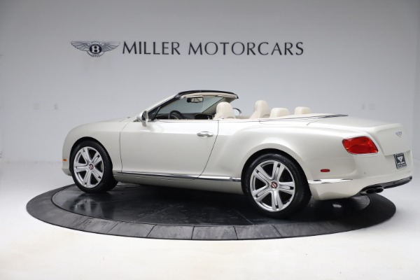 Used 2015 Bentley Continental GTC V8 for sale Sold at Aston Martin of Greenwich in Greenwich CT 06830 5