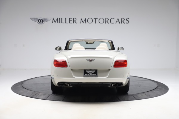 Used 2015 Bentley Continental GTC V8 for sale Sold at Aston Martin of Greenwich in Greenwich CT 06830 6