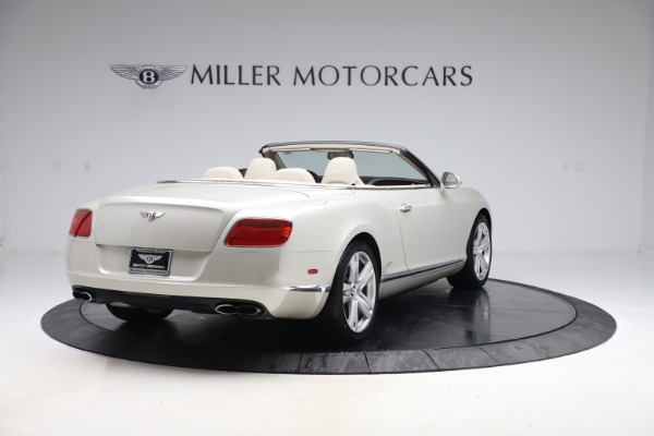 Used 2015 Bentley Continental GTC V8 for sale Sold at Aston Martin of Greenwich in Greenwich CT 06830 7