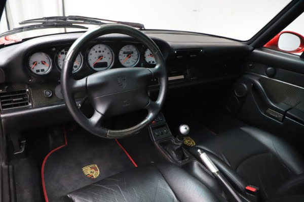 Used 1997 Porsche 911 Turbo S for sale $419,900 at Aston Martin of Greenwich in Greenwich CT 06830 5