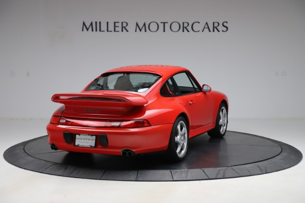 Used 1997 Porsche 911 Turbo S for sale $429,900 at Aston Martin of Greenwich in Greenwich CT 06830 8