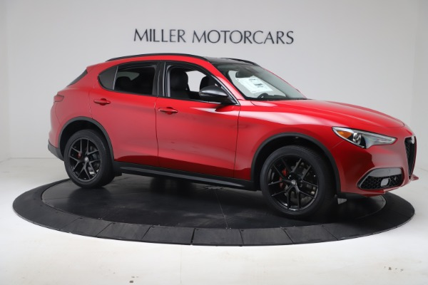 New 2020 Alfa Romeo Stelvio Q4 for sale $49,240 at Aston Martin of Greenwich in Greenwich CT 06830 10