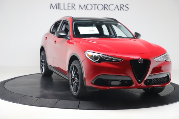 New 2020 Alfa Romeo Stelvio Q4 for sale $49,240 at Aston Martin of Greenwich in Greenwich CT 06830 11