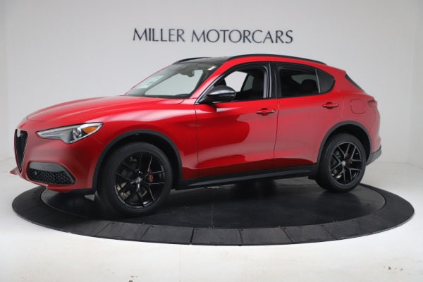 New 2020 Alfa Romeo Stelvio Q4 for sale $49,240 at Aston Martin of Greenwich in Greenwich CT 06830 2