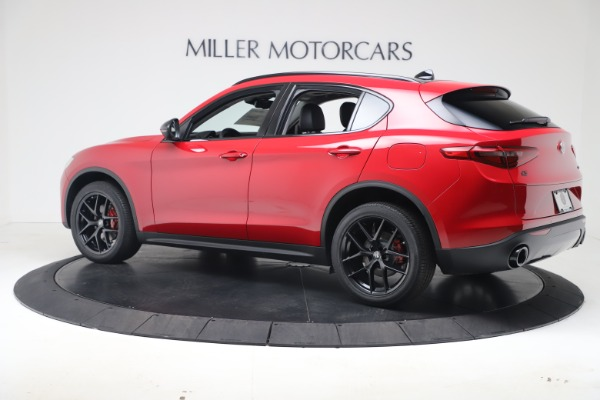 New 2020 Alfa Romeo Stelvio Q4 for sale $49,240 at Aston Martin of Greenwich in Greenwich CT 06830 4
