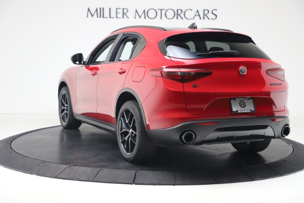 New 2020 Alfa Romeo Stelvio Q4 for sale $49,240 at Aston Martin of Greenwich in Greenwich CT 06830 5