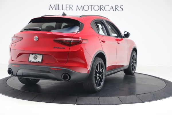 New 2020 Alfa Romeo Stelvio Q4 for sale $49,240 at Aston Martin of Greenwich in Greenwich CT 06830 7