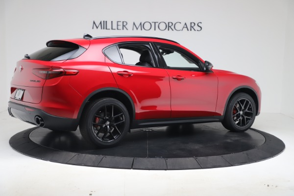 New 2020 Alfa Romeo Stelvio Q4 for sale $49,240 at Aston Martin of Greenwich in Greenwich CT 06830 8