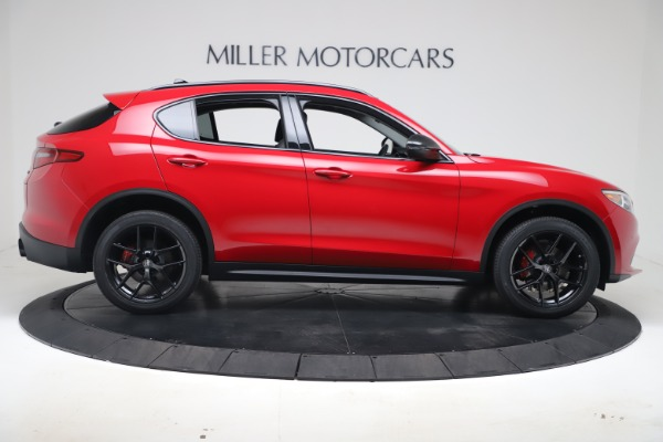 New 2020 Alfa Romeo Stelvio Q4 for sale $49,240 at Aston Martin of Greenwich in Greenwich CT 06830 9