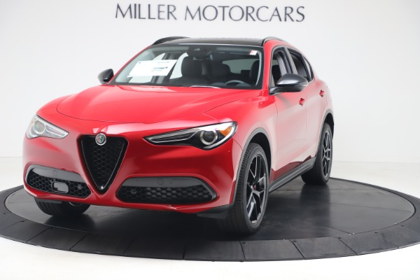 New 2020 Alfa Romeo Stelvio Q4 for sale $49,240 at Aston Martin of Greenwich in Greenwich CT 06830 1