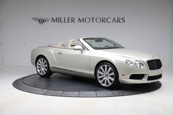 Used 2015 Bentley Continental GTC V8 for sale Sold at Aston Martin of Greenwich in Greenwich CT 06830 10
