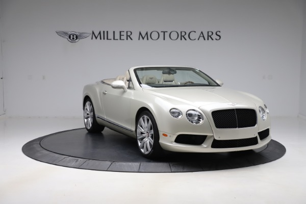 Used 2015 Bentley Continental GTC V8 for sale Sold at Aston Martin of Greenwich in Greenwich CT 06830 11