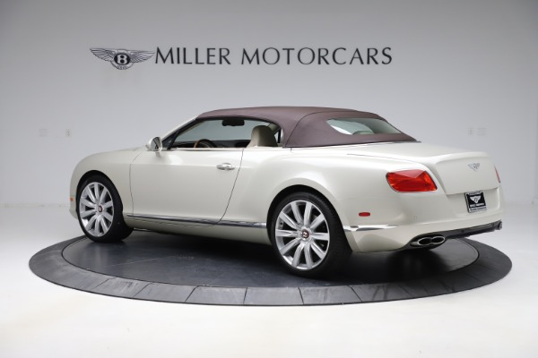 Used 2015 Bentley Continental GTC V8 for sale Sold at Aston Martin of Greenwich in Greenwich CT 06830 15