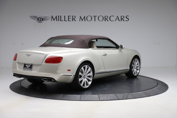 Used 2015 Bentley Continental GTC V8 for sale Sold at Aston Martin of Greenwich in Greenwich CT 06830 16