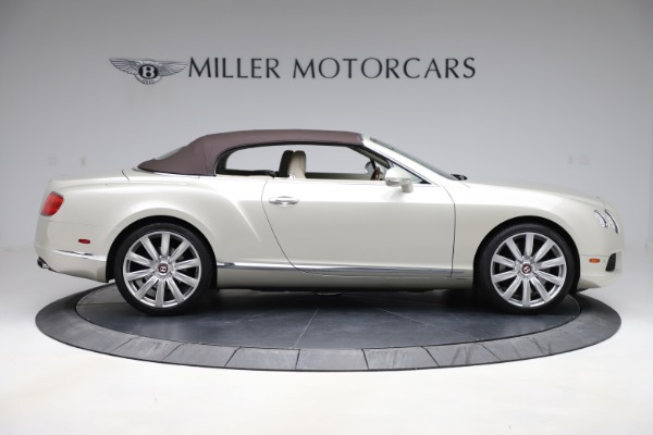 Used 2015 Bentley Continental GTC V8 for sale Sold at Aston Martin of Greenwich in Greenwich CT 06830 17