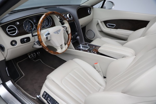 Used 2015 Bentley Continental GTC V8 for sale Sold at Aston Martin of Greenwich in Greenwich CT 06830 23