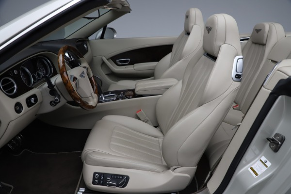 Used 2015 Bentley Continental GTC V8 for sale Sold at Aston Martin of Greenwich in Greenwich CT 06830 24