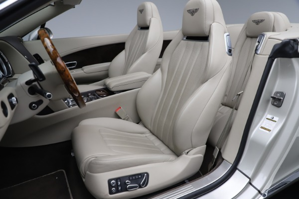Used 2015 Bentley Continental GTC V8 for sale Sold at Aston Martin of Greenwich in Greenwich CT 06830 25