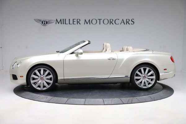 Used 2015 Bentley Continental GTC V8 for sale Sold at Aston Martin of Greenwich in Greenwich CT 06830 3