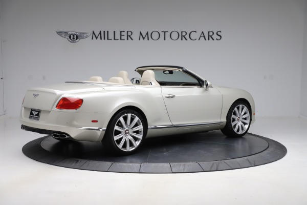 Used 2015 Bentley Continental GTC V8 for sale Sold at Aston Martin of Greenwich in Greenwich CT 06830 8