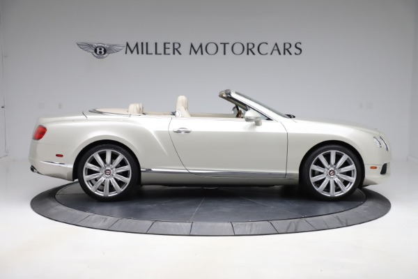 Used 2015 Bentley Continental GTC V8 for sale Sold at Aston Martin of Greenwich in Greenwich CT 06830 9