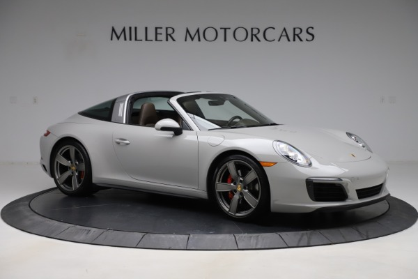 Used 2018 Porsche 911 Targa 4S for sale Sold at Aston Martin of Greenwich in Greenwich CT 06830 10