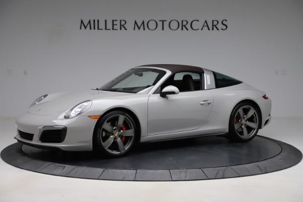 Used 2018 Porsche 911 Targa 4S for sale Sold at Aston Martin of Greenwich in Greenwich CT 06830 12