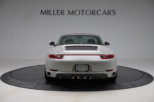 Used 2018 Porsche 911 Targa 4S for sale Sold at Aston Martin of Greenwich in Greenwich CT 06830 6
