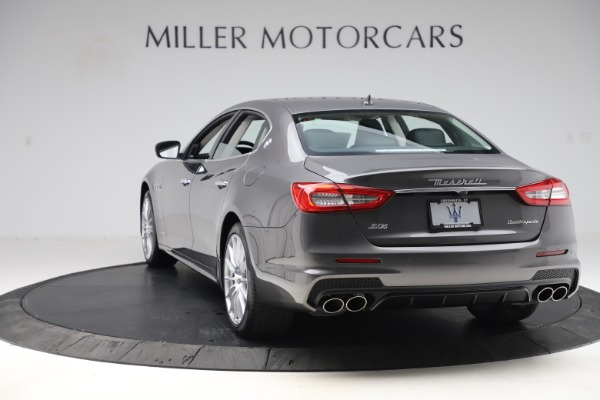 New 2020 Maserati Quattroporte S Q4 GranSport for sale $121,885 at Aston Martin of Greenwich in Greenwich CT 06830 5