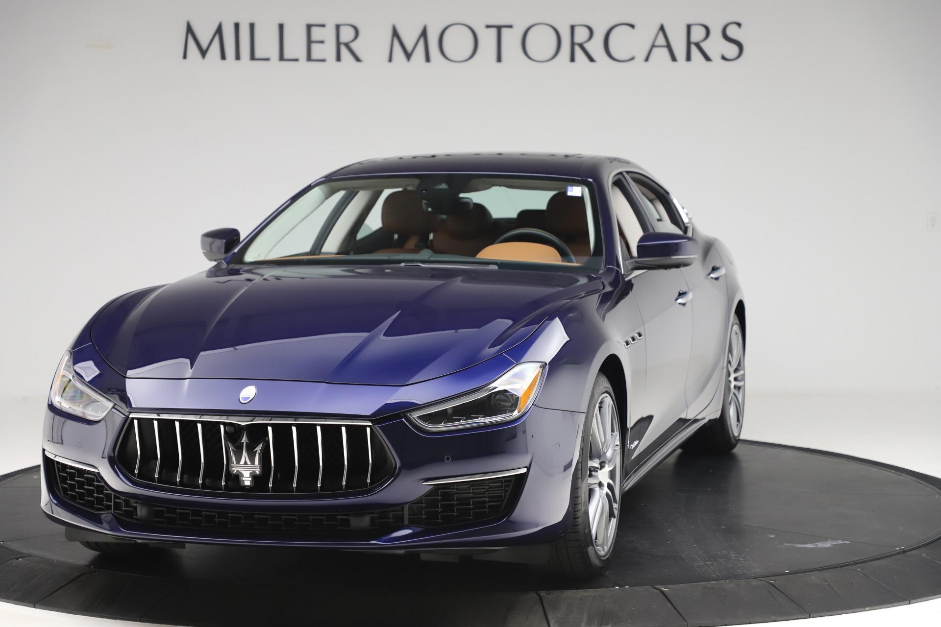 New 2020 Maserati Ghibli S Q4 GranLusso for sale $89,535 at Aston Martin of Greenwich in Greenwich CT 06830 1