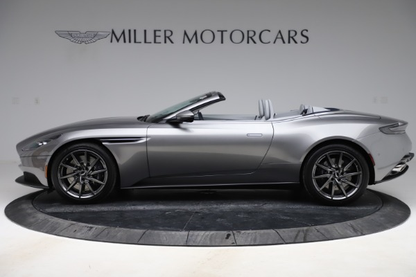 New 2020 Aston Martin DB11 Volante Convertible for sale $271,161 at Aston Martin of Greenwich in Greenwich CT 06830 4