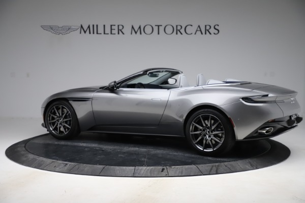 New 2020 Aston Martin DB11 Volante Convertible for sale $271,161 at Aston Martin of Greenwich in Greenwich CT 06830 5