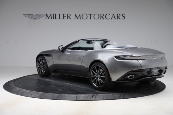 New 2020 Aston Martin DB11 Volante Convertible for sale $271,161 at Aston Martin of Greenwich in Greenwich CT 06830 6