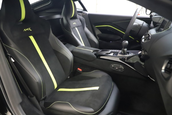 New 2020 Aston Martin Vantage AMR Coupe for sale $191,931 at Aston Martin of Greenwich in Greenwich CT 06830 19