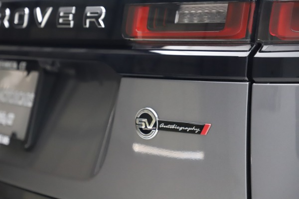 Used 2020 Land Rover Range Rover Velar SVAutobiography Dynamic Edition for sale Sold at Aston Martin of Greenwich in Greenwich CT 06830 28