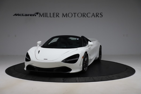 Used 2020 McLaren 720S Spider Convertible for sale Call for price at Aston Martin of Greenwich in Greenwich CT 06830 2
