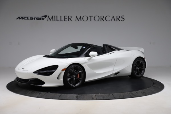Used 2020 McLaren 720S Spider Convertible for sale Call for price at Aston Martin of Greenwich in Greenwich CT 06830 1
