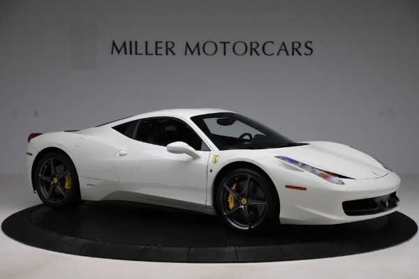Used 2013 Ferrari 458 Italia for sale $186,900 at Aston Martin of Greenwich in Greenwich CT 06830 10