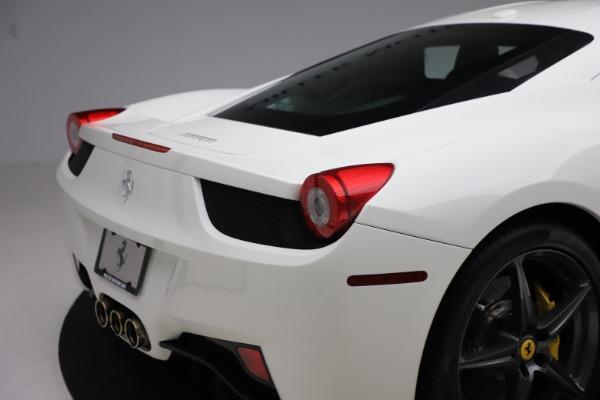 Used 2013 Ferrari 458 Italia for sale $186,900 at Aston Martin of Greenwich in Greenwich CT 06830 26