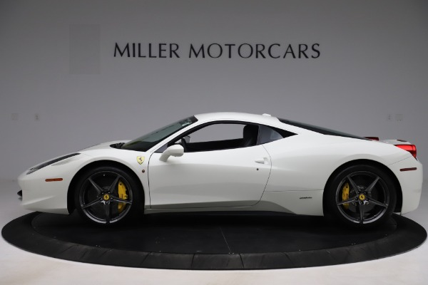 Used 2013 Ferrari 458 Italia for sale $186,900 at Aston Martin of Greenwich in Greenwich CT 06830 3