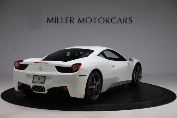 Used 2013 Ferrari 458 Italia for sale $186,900 at Aston Martin of Greenwich in Greenwich CT 06830 7