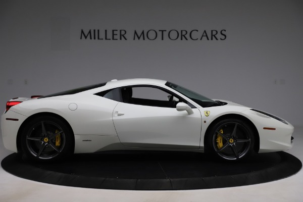 Used 2013 Ferrari 458 Italia for sale $186,900 at Aston Martin of Greenwich in Greenwich CT 06830 9
