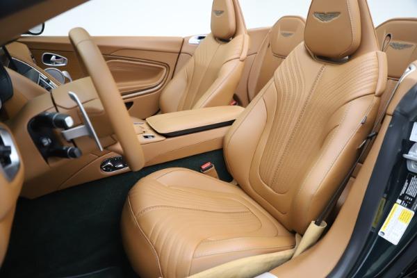 New 2020 Aston Martin DB11 Volante Convertible for sale $290,801 at Aston Martin of Greenwich in Greenwich CT 06830 16