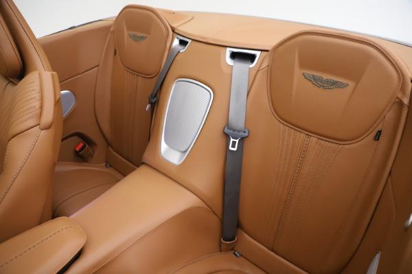 New 2020 Aston Martin DB11 Volante Convertible for sale $290,801 at Aston Martin of Greenwich in Greenwich CT 06830 17