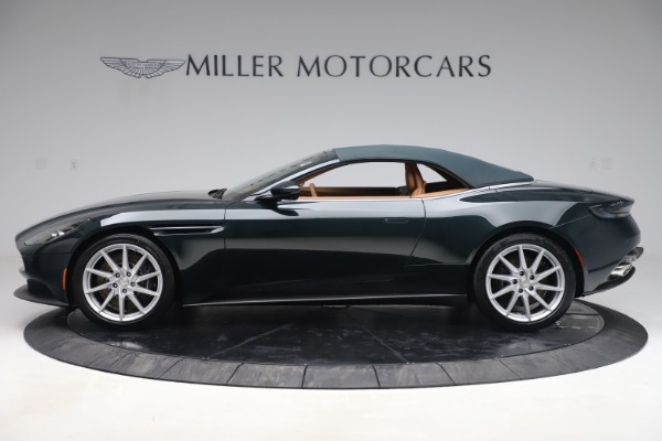 New 2020 Aston Martin DB11 Volante Convertible for sale $290,801 at Aston Martin of Greenwich in Greenwich CT 06830 25