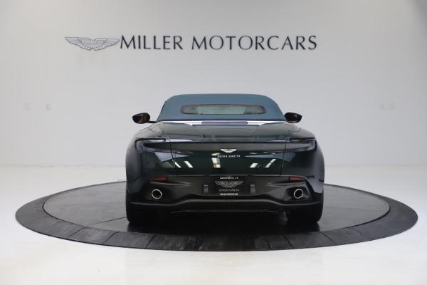 New 2020 Aston Martin DB11 Volante Convertible for sale $290,801 at Aston Martin of Greenwich in Greenwich CT 06830 27