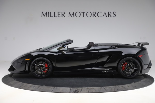 Used 2013 Lamborghini Gallardo LP 570-4 Spyder Performante for sale $229,900 at Aston Martin of Greenwich in Greenwich CT 06830 3