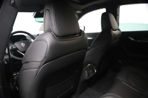 New 2020 Maserati Levante S Q4 GranSport for sale $102,285 at Aston Martin of Greenwich in Greenwich CT 06830 20