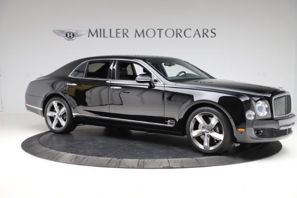 Used 2016 Bentley Mulsanne Speed for sale $149,900 at Aston Martin of Greenwich in Greenwich CT 06830 9