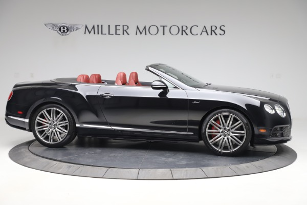 Used 2015 Bentley Continental GTC Speed for sale $139,900 at Aston Martin of Greenwich in Greenwich CT 06830 10